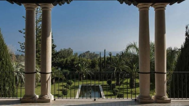 Palatial style Mansion for sale in Marbella
