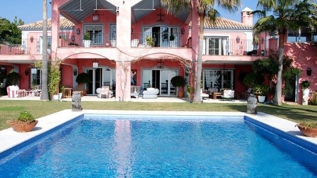 Cuban style Beach villa for sale and rent South of Spain
