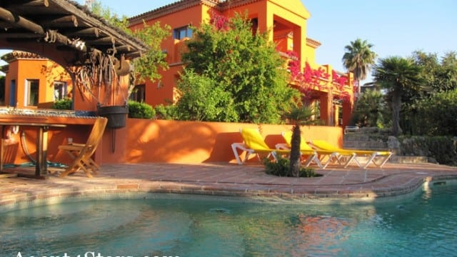 Marbella East.South west facing villa for sale.