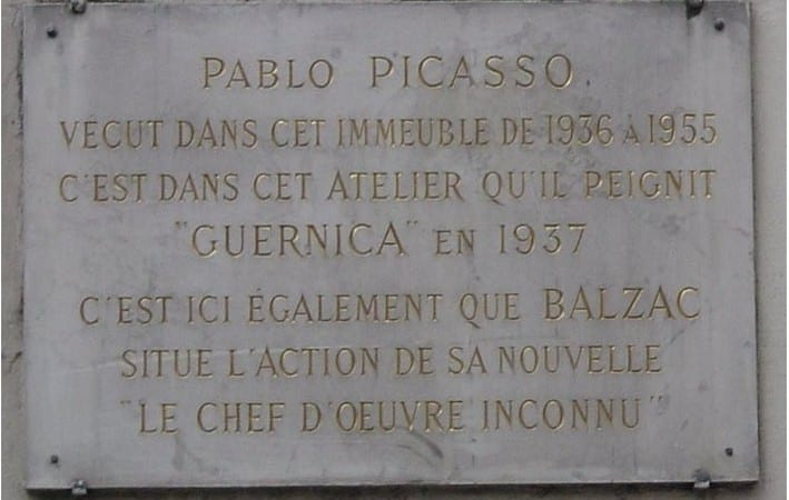 Guernica-Paris-Studio-Name-Plate