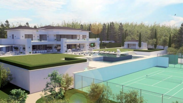 Oasis de la vie priv e paix harmony modern villa for sale in spain - Villa de star a vendre ...