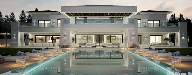 Oasis of privacy & harmony modern villa for sale in Spain