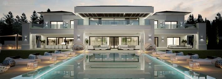 oasis der privatsph re frieden harmony modern villa for sale in spain. Black Bedroom Furniture Sets. Home Design Ideas