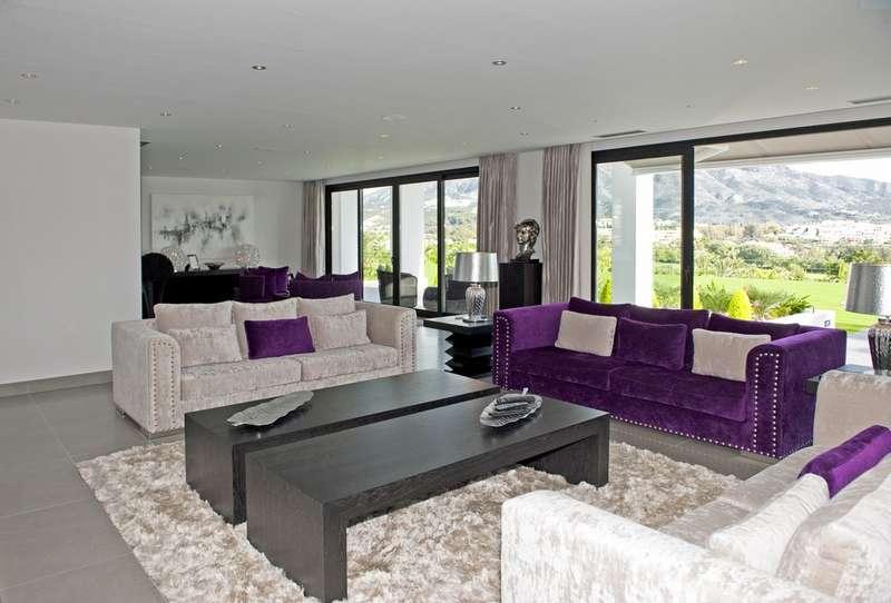 Völlig neue, moderne hochwertige Villa zum Verkauf in Nueva ...
