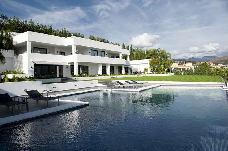 Villa De Milliardaire A Vendre : Villa neuve de haute qualité moderne à vendre nueva