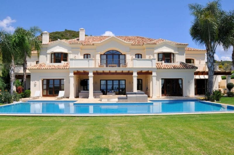 Villa De Milliardaire A Vendre : Villa à vendre dans une résidence vega colorado benahavis