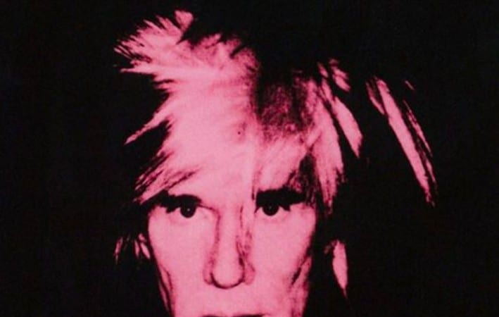 Andy Warhol - Self Portrait With a Fright Wig (1986)