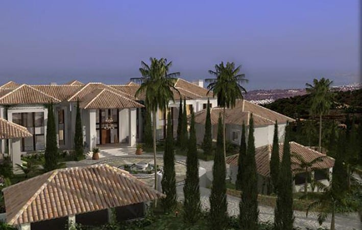 La Roca del Rey. Total Build Size- 4000m. Total Plot Size- 18000mback