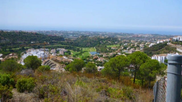 Building Plots with Panoramic views for sale in Benahavis
