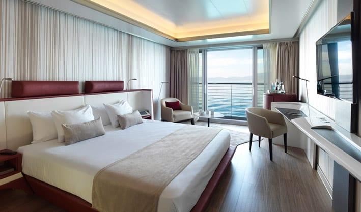 De drijvende Yacht Hotel, het hotel van de toekomst