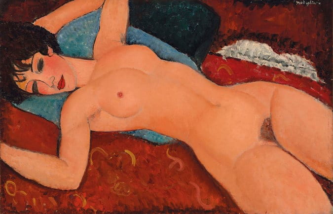 Amedeo-Modigliani-Nu-Couche