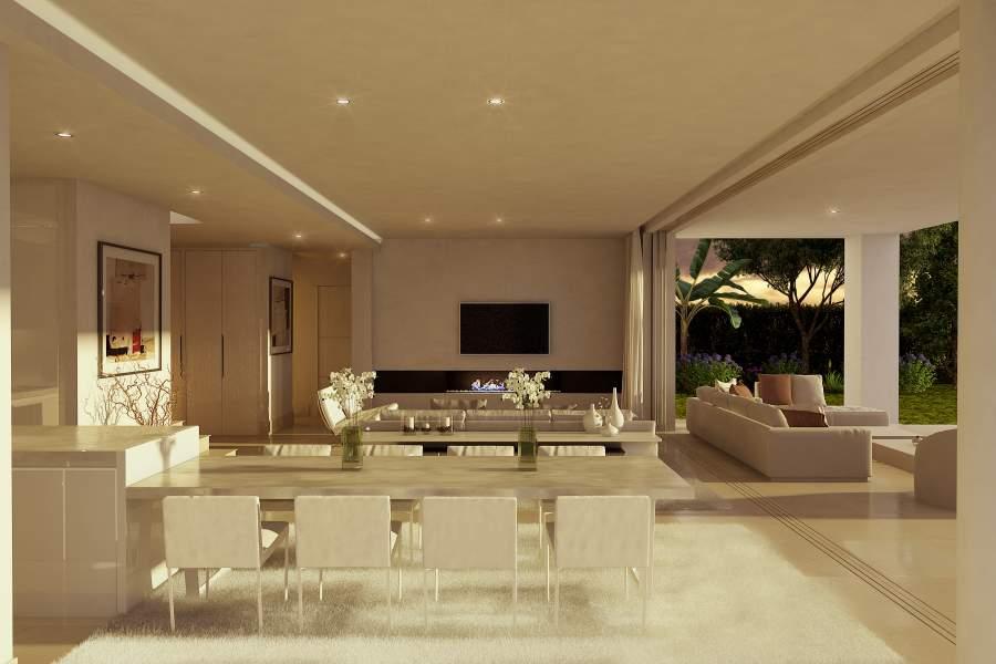 Moderne Villen von € 995.000 Marbella Ost