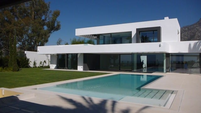 SOLD – Modern villa for sale Marbella Hillside, great views