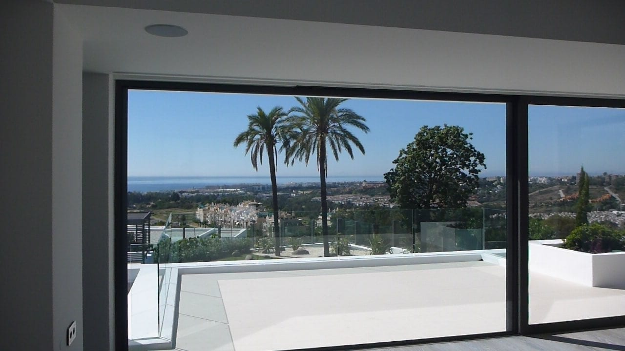 SOLD - Modern villa for sale Marbella Hillside, great views