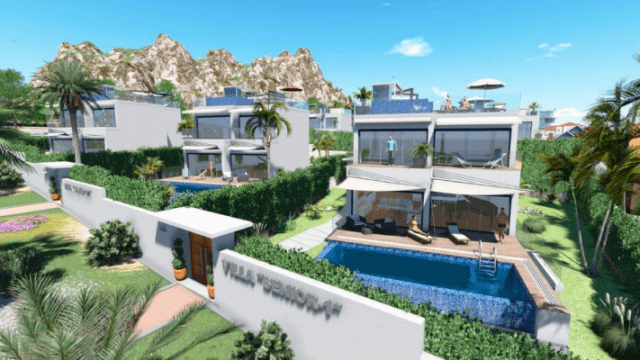 Modern villas for sale Marbella beachside