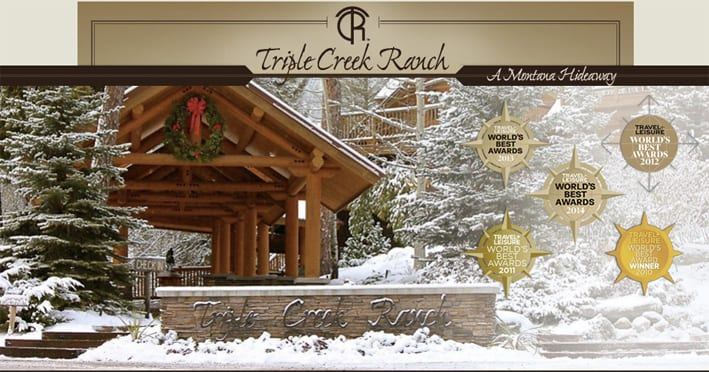 Triple-Creek-Ranch book the world´s no 1 hotel