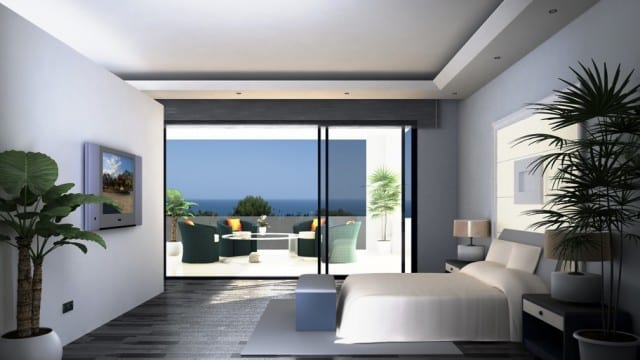Unfinished modern villa for sale, Benahavis views €780.000