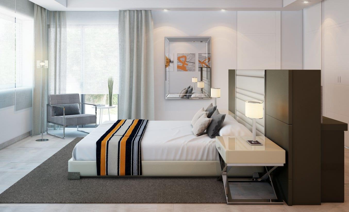 Moderne villa 2e lijn strand te koop in marbella completion 2014 for Moderne meid slaapkamer