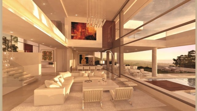 Modern villa project for sale Marbella Hillside