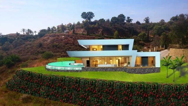 Villa De Milliardaire A Vendre : Investisseur inachevés villas de luxe à vendre marbella
