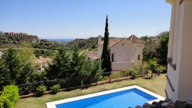 Villa with great views for sale in Benahavis