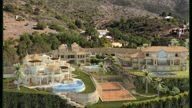 New off plan Villas for sale Marbella hillside