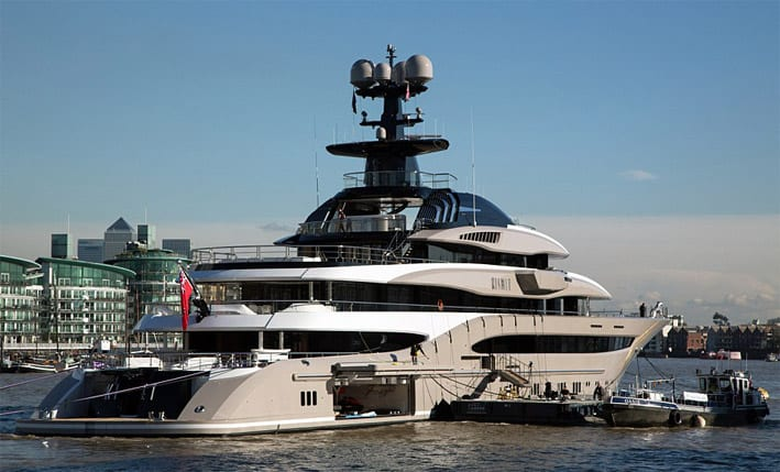 The Largest Super Yachts Build Amp Sold In 2014