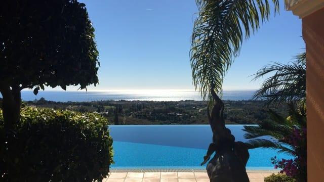 Mansion above Marbella's Golden Mile for sale