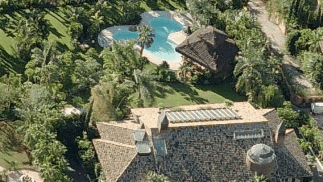 Sierra Blanca.Luxury Villa with tropical garden for sale