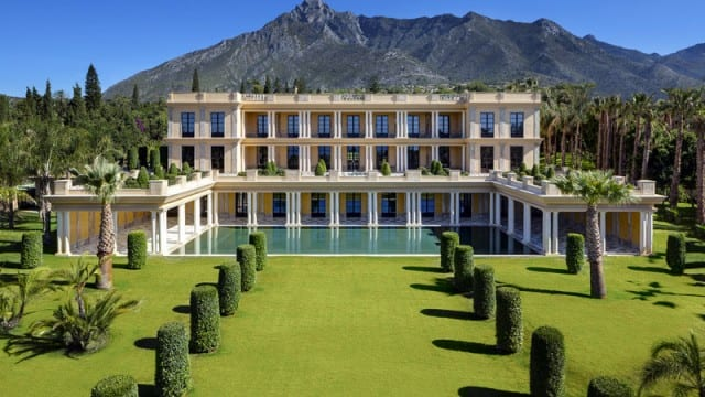 For sale Mansion fit for Royalty Marbella Spain
