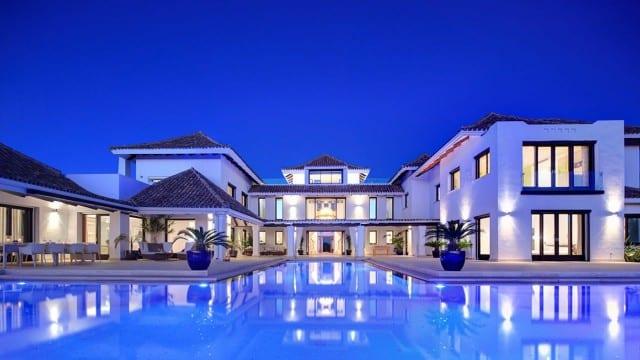 SOLD La Zagaleta villa for sale 8 cars garage & Sea Views