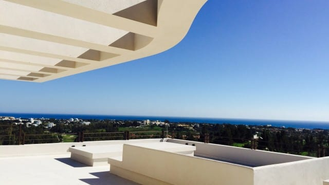 Sea-Views-From-modern-Benahavis-villa