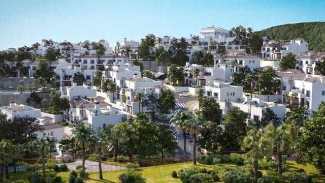 Costa del Sol development 2-3 bed apartments for sale