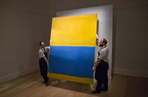 'Untitled (Yellow and Blue)' 46.5m usd
