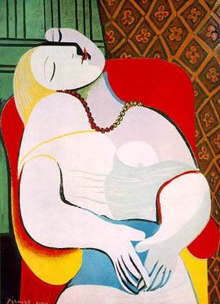 Le-reve-1932=Picasso