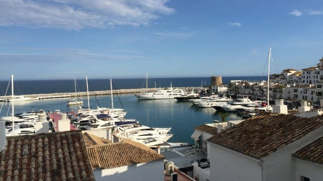 Sea & Port view apartment 120m2 Puerto Banus
