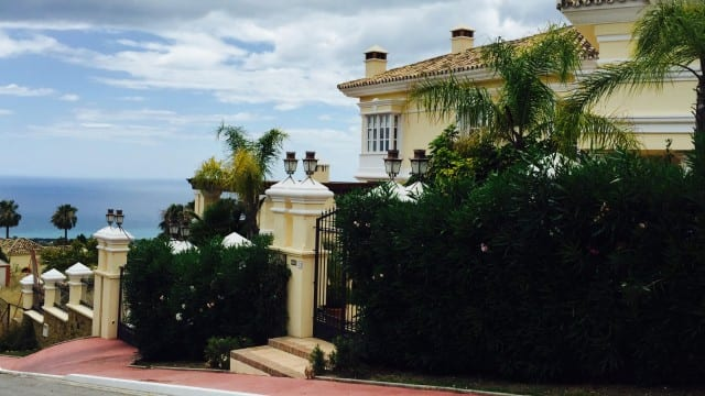 Sierra Blanca Mansion for sale Marbella Hillside