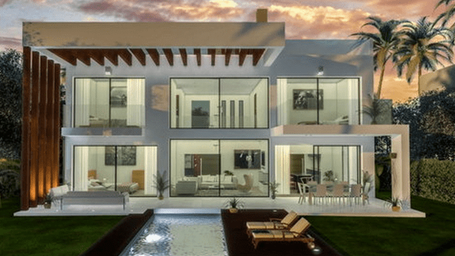 Costa del Sol modern villas for sale from €699.000 off-plan