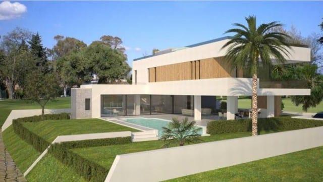 Benahavis.Modern villas.Gated hilltop development.