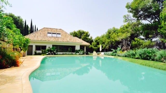 Marbella villa for sale & rent in a private urbanization
