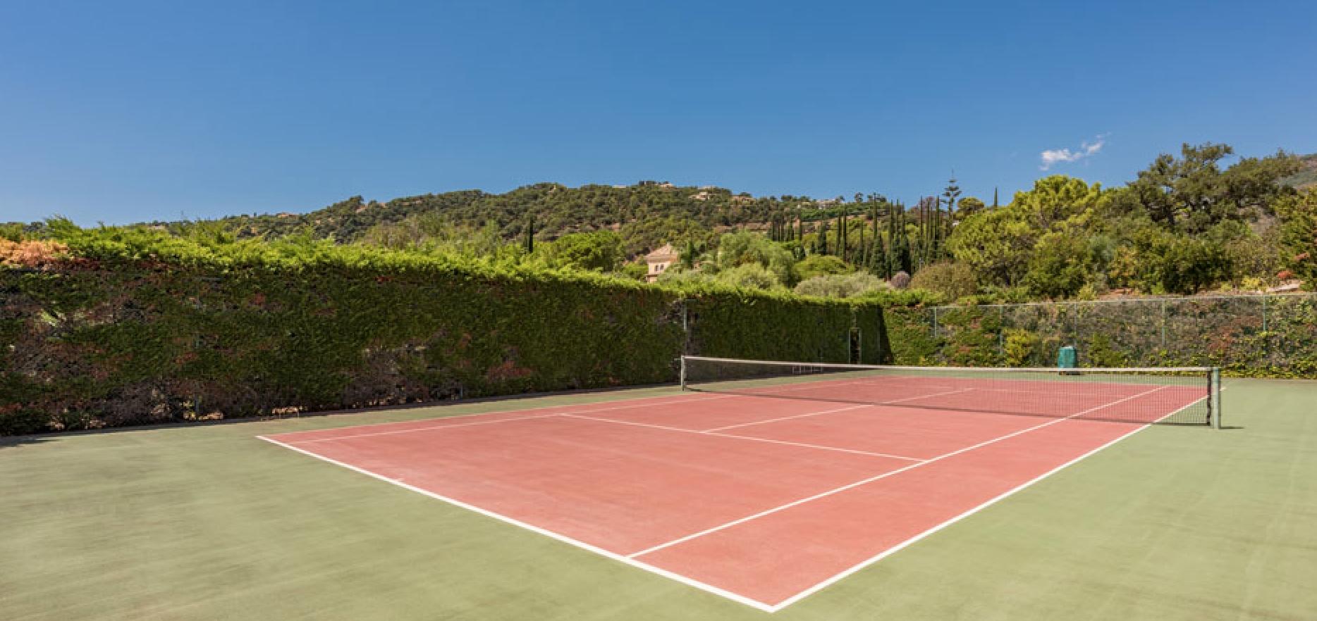 El Madronal Mansion On 20 000m2 Plot Tennis Court