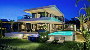 Benahavis high quality modern villa sea views