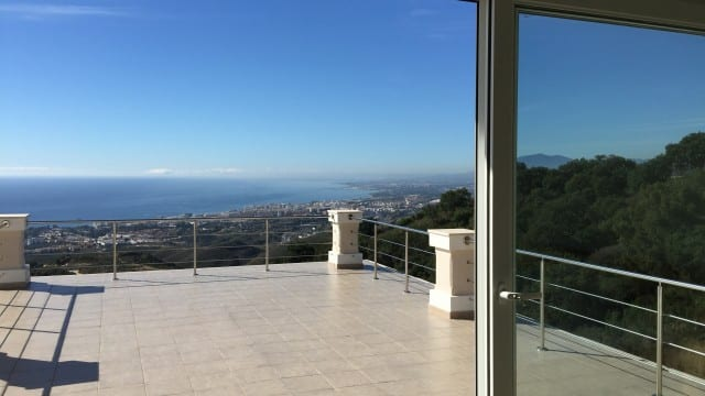 Marbella East new villa with panoramic sea views