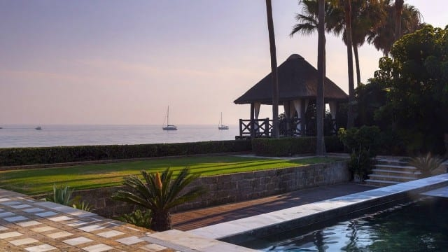 Beachfront villa Marbella East €17million