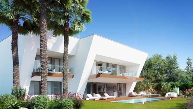 Marbella Hillside modern Villa with sea views