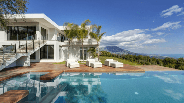 La Zagaleta modern villa for sale with sea views