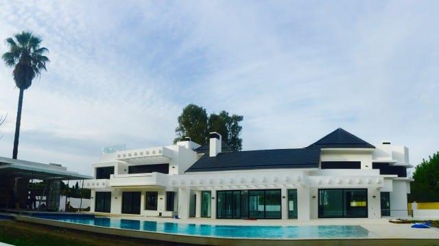 Marbella west.New Modern luxury villa for sale