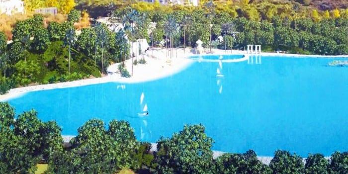 14000m2 d veloppement de piscine lagon de cristal dans le sud de l 39 espagne. Black Bedroom Furniture Sets. Home Design Ideas