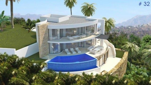 Benahavis modern villas for sale in gated community