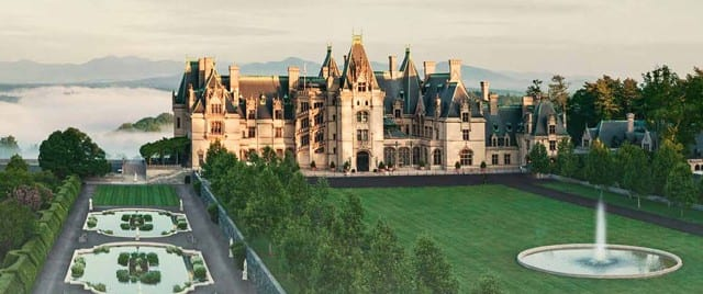 Biltmore Mansion.Largest Home in America